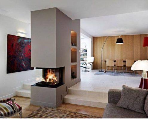 Moderni kamini suvremeni dizajn i kvaliteta za va dom for Insert 3 faces vitrees